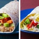 10 Recetas de Wraps Saludables Para Bajar de Peso (Fáciles y Rápidos)