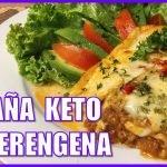 👩🍳 LASAÑA de berenjena KETO, deliciosa y saludable  🍆  Recetas para bajar de peso rápido 😍