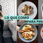 LO QUE COMO PARA PERDER PESO - RECETAS FACILES Y SALUDABLES | Michela Perleche