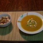 """Recetas Vegetarianas: Sopa Crema """"Amarilla"""" bajas calorías para bajar de peso"""