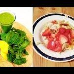 2 recetas de smoothies y 1 ensalada para perder peso!