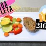 ¿Qué comer para bajar de peso?    RECETA: Comida completa con 210 kcal