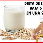 Dieta de la avena baja 5 kilos en una semana