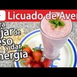 CÓMO HACER LICUADO DE AVENA PARA BAJAR DE PESO Y DAR ENERGÍA | #VickyRecetaFacil