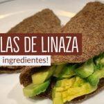 TORTILLAS DE LINAZA| DIETA KETO | RECETA PARA BAJAR DE PESO | DIETA CETOGENICA