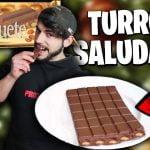¡EL MEJOR TURRÓN de CHOCOLATE SALUDABLE! (Recetas Saludables y Faciles para Bajar Peso)