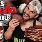 ¡¡RECETA CREPES de NUTELLA SALUDABLES!! *SUPER TOP* (Recetas Saludables y Faciles para Bajar Peso)