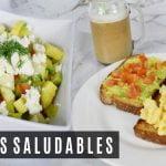 QUE COMO EN UN DÍA / Recetas para adelgazar sin pasar hambre! - Kelly