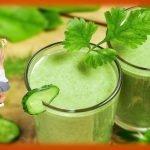 Batidos para adelgazar - Receta de batido verde para perder peso