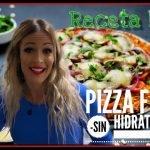 receta casera para PERDER PESO RÁPIDO 💨!!! Pizza 🍕 Fit🏋🏻♂️SIN HIDRATOS ❌Recetas Fitness/👩🏼🍳