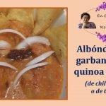 ALBÓNDIGAS DE GARBANZO Y QUINOA EN SALSA DE CHIPOTLE (O DE TOMATE)  - NUTRICIÓN DELICIOSA  Mi receta de cocina