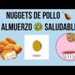 ALMUERZO SALUDABLE / NUGGETS CASEROS- Almuerzo para bajar de peso