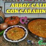 ARROZ CALDOSO CON CARABINEROS  (IMPRESIONANTE) (DELICIOSA) Y (FACILISIMA)