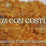 ARROZ CON COSTILLAS en Monsieur Cuisine Connect   Ingredientes entre dientes