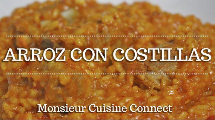 ARROZ CON COSTILLAS en Monsieur Cuisine Connect | Ingredientes entre dientes
