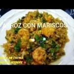 ARROZ CON MARISCOS RECETAS DE MI COCINA CON MARTHA AGUIRRE
