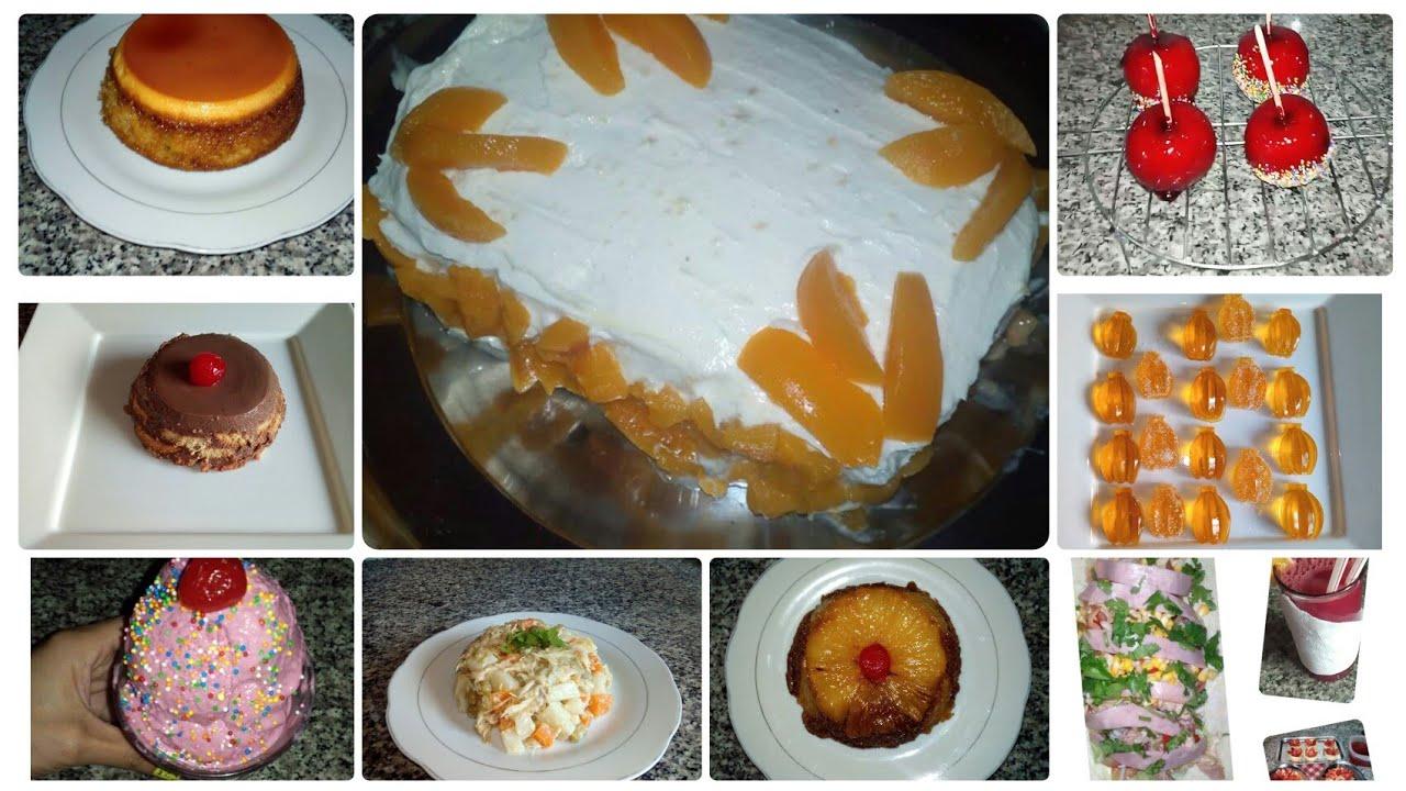 Aprende y Cocina Junto a María un Canal de muchas recetas fáciles para TI