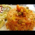 Arroz Rojo con Verduras Recetas Light Las Recetas de Laura