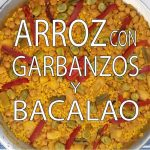 Arroz con Garbanzos y Bacalao Fácil y Rápido