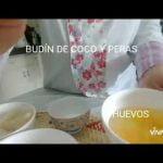 BUDIN DE PERAS Y COCO ( APTO CELÍACOS Y DIABÉTICOS)  Mi receta de cocina