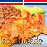 Bacalao Guisado con Papa, Arroz Blanco y Habichuela Roja (Receta Completa) - Cocinando con Yolanda