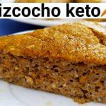 Bizcocho Keto Esponjoso de Coco y Zanahoria 🥕🥥 Cetogénico   Sin Gluten  Mi receta de cocina