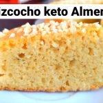 Bizcocho Keto de Almendras,Esponjoso Sabor Vainilla  Sin Gluten    Mi receta de cocina