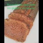 Bizcocho de chocolate sin gluten y sin azúcar  Mi receta de cocina