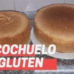 🍰Bizcocho(con 3 ingredientes) SIN GLUTEN Y SIN LACTOSA  Mi receta de cocina