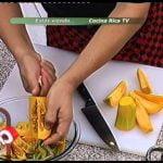 COCINA RICA TV - Calabaza salteada y gratinada Mi receta de cocina