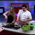 COCINA RICA TV - RECETA VEGETARIANA Mi receta de cocina