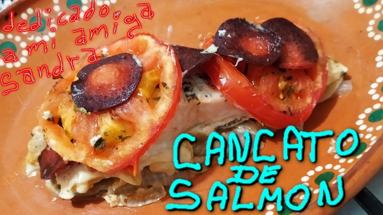Cancato De Salmon De Chile Receta De Cocina Pescado Marisco Queso Dedicado A Sandra de Puerto Montt