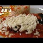 Chiles Rellenos Las Recetas de Laura Recetas Saludables Recetas sin grasa