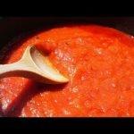 Cómo hacer SALSA DE TOMATE casera FÁCIL en 10 minutos con tomates naturales 🍅 Receta de Bruno Oteiza