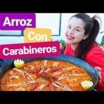Como hacer arroz con carabineros y demás delicias... #lacocinadelucia chef te enseña fácilmente.
