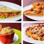 Como preparar 4 cenas saludables para(bajar de peso )