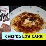 Crepes de mascarpone LOW CARB | Con TAGATOSA | SIN AZÚCAR | MIX BROWNIE  Mi receta de cocina
