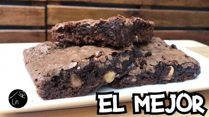 El MEJOR BROWNIE de chocolate   La mejor receta del mundo.