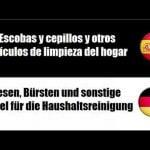 Español+Alemán = Utensilios de cocina