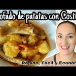 Estofado de patatas y costillas/ Cocina conmigo/ Receta Fácil y Rápida/ Cocina Económica/ Maricienta