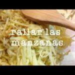 Fácil Receta de Postre de Manzana:  Easy apple dessert  Mi receta de cocina