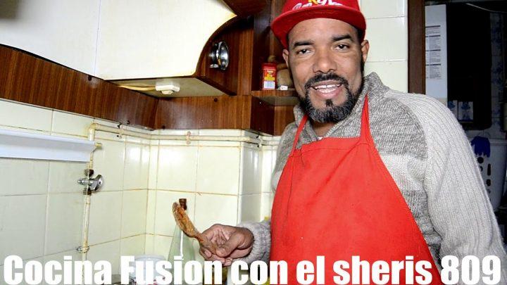 GAMBAS AL AJILLO, RECETA CASERA  COCINA FISIÓN  809 CON EL SHERIS PRODUCCIÓN