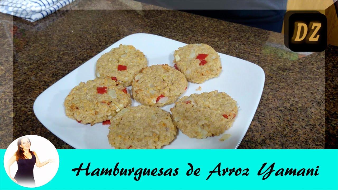 HAMBURGUESAS DE ARROZ YAMANI - Comida Casera - Recetas Faciles y Rapidas - Recetas Saludables