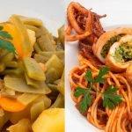Judías verdes con patatas - Calamares rellenos a la italiana - Cocina Abierta de Karlos Arguiñano