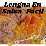 LENGUA EN SALSA CRIOLLA FÁCIL 🍲🍖. Recetas De Cocina Fácil y Rápido.
