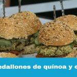 La Cocina de Cada Día: Medallones de quínoa y espinaca  Mi receta de cocina