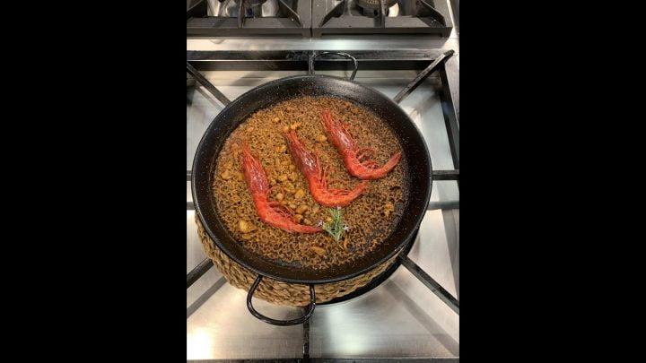 La receta de arroz de carabinero de Miquel Antoja