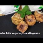 Leche frita Vegana Ecológica Sin Alérgenos (Sin gluten, leche, huevo, soja, frutos secos ni sésamo)  Mi receta de cocina