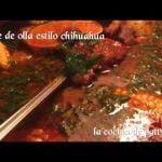 Mole de Olla Estilo chihuahua deliciosa y exquisita receta | la  Cocina de Patty Celis