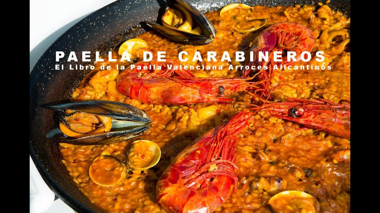 PAELLA DE CARABINEROS  Restaurante Vista Ifach Moraira (ArturG)